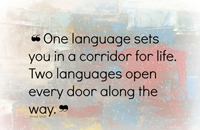 Stephan Behringer – Every new language opens a new door in your life