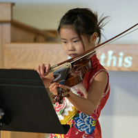 Music helps kids find focus