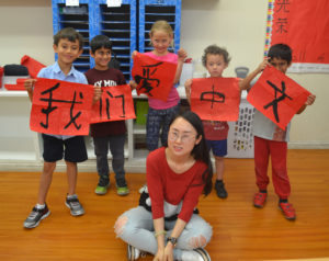 Studying foreign language put students into a global community